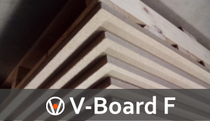 V-Board F for Fireplaces